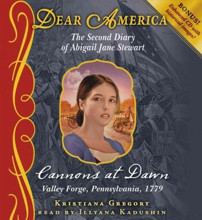 Cannons at Dawn: The Second Diary of Abigail Jane Stewart (CD-Audio)