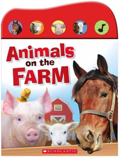 Animals on the Farm (Board book) - Thumbnail 0
