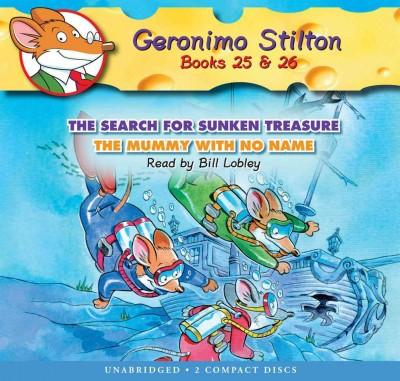 The Search for Sunken Treasure / the Mummy With No Name: Library Edition (CD-Audio)