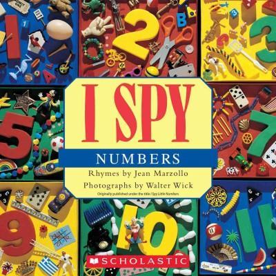 I Spy Numbers (Paperback)