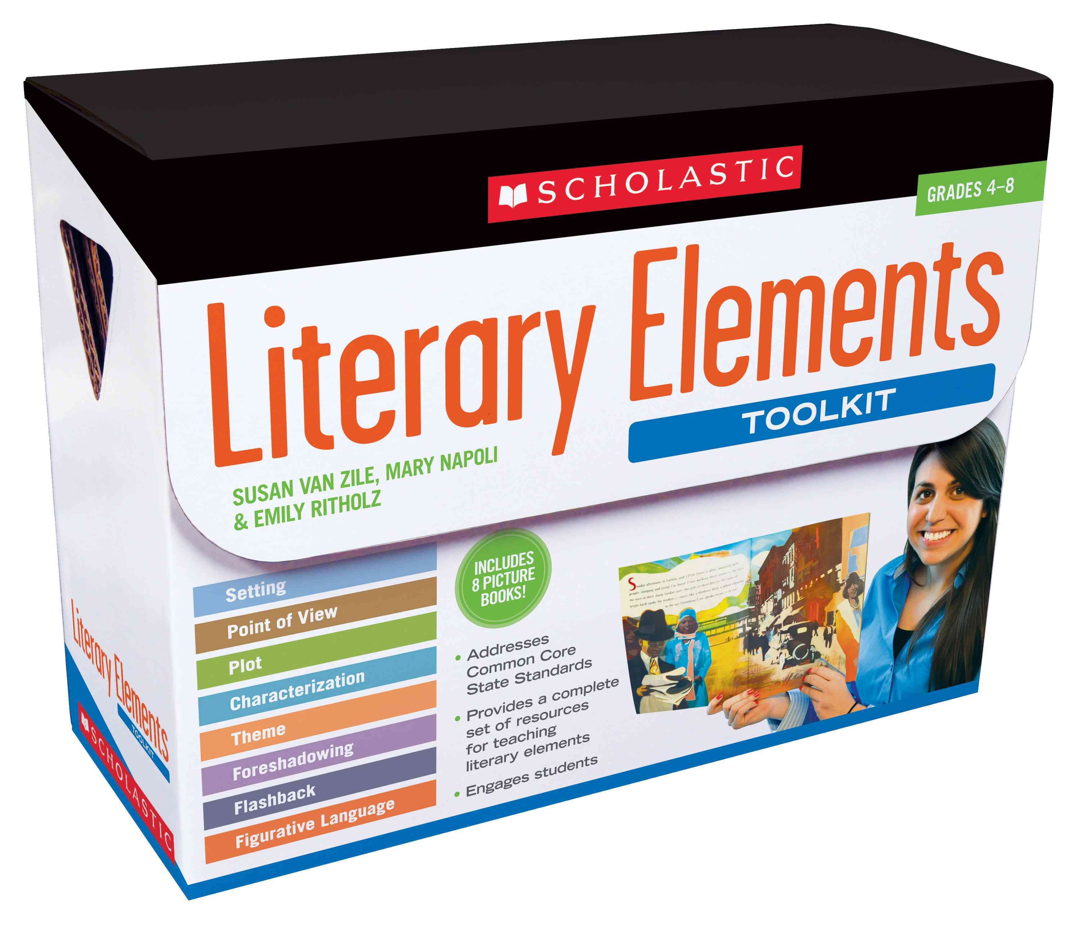 Literary Elements Toolkit, Grades 4-8