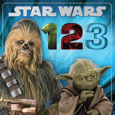 Star Wars 1, 2, 3 (Board book)