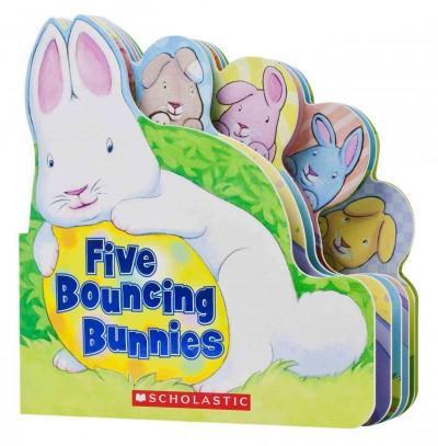 Five Bouncing Bunnies (Board book)