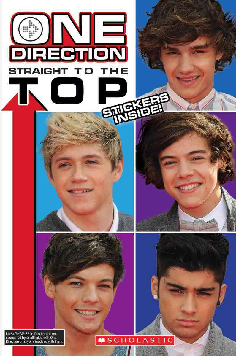 One Direction: Straight to the Top (Paperback)