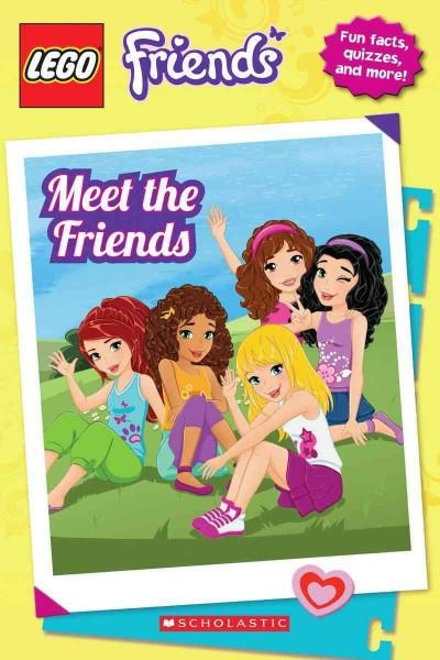 Lego Friends: Meet the Friends (Paperback)
