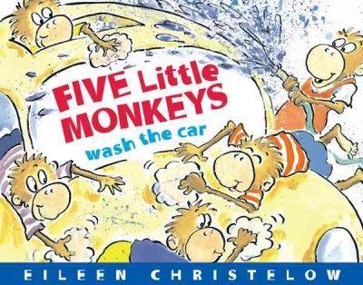 Five Little Monkeys Wash the Car (Board book)