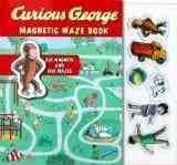 Curious George Magnetic Maze Book (Hardcover)