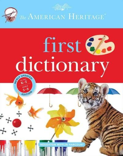 The American Heritage First Dictionary (Hardcover)
