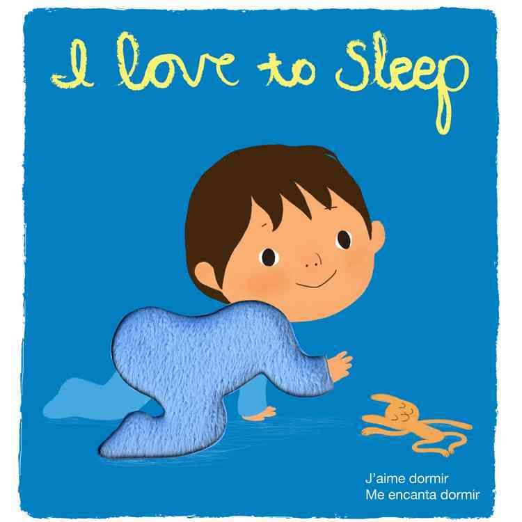 I Love to Sleep: Touch-and-Feel (Board book)