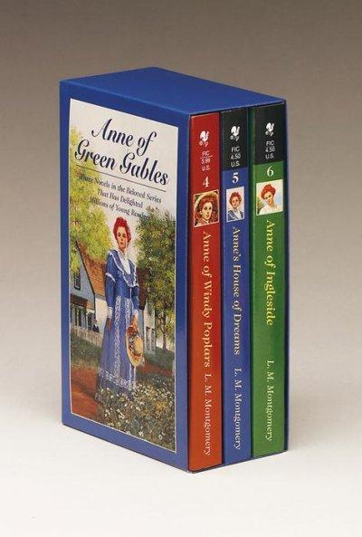 Anne of Green Gables: Anne of Windy Poplars, Anne's House of Dreams, Anne of Ingleside (Paperback)