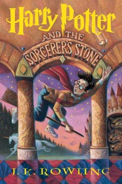Harry Potter and the Sorcerer's Stone (Hardcover) - Thumbnail 0