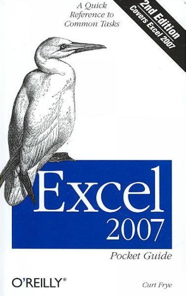 Excel 2007 Pocket Guide (Paperback)