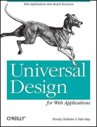 Universal Design for Web Applications (Paperback)
