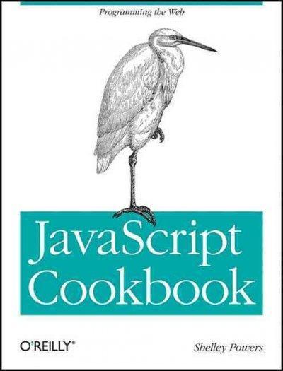 JavaScript Cookbook (Paperback)