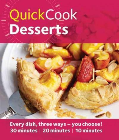 Quick Cook Desserts (Paperback)