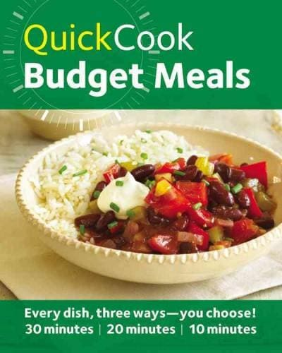 Quick Cook Budget Meals (Paperback)