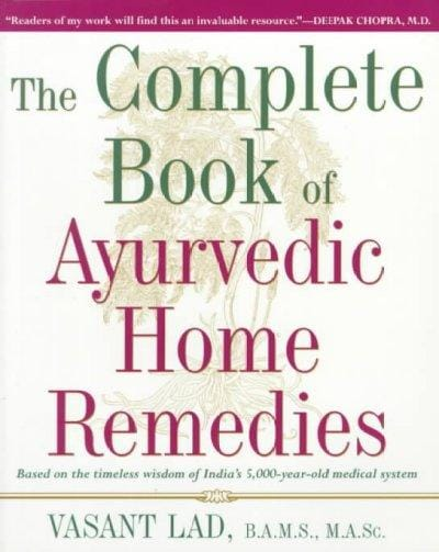 Complete Book of Ayurvedic Home Remedies (Paperback)