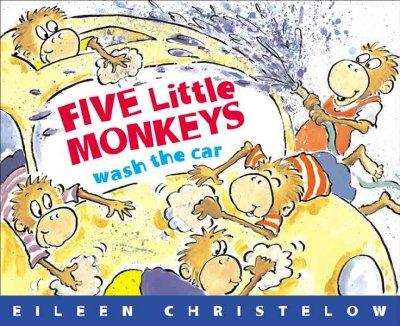 Five Little Monkeys Wash The Car (Paperback)