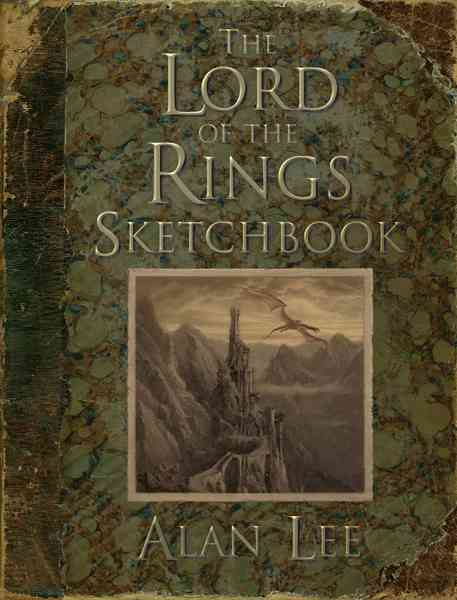 The Lord of the Rings Sketchbook (Hardcover) - Thumbnail 0