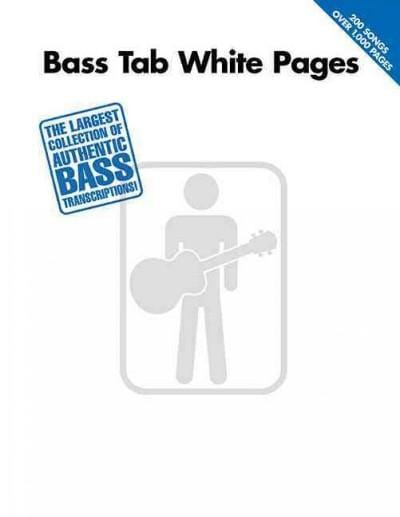 Bass Tab White Pages (Paperback)