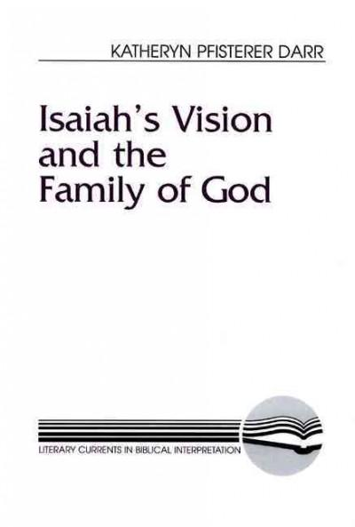 Isaiah's Vision and the Family of God (Paperback)