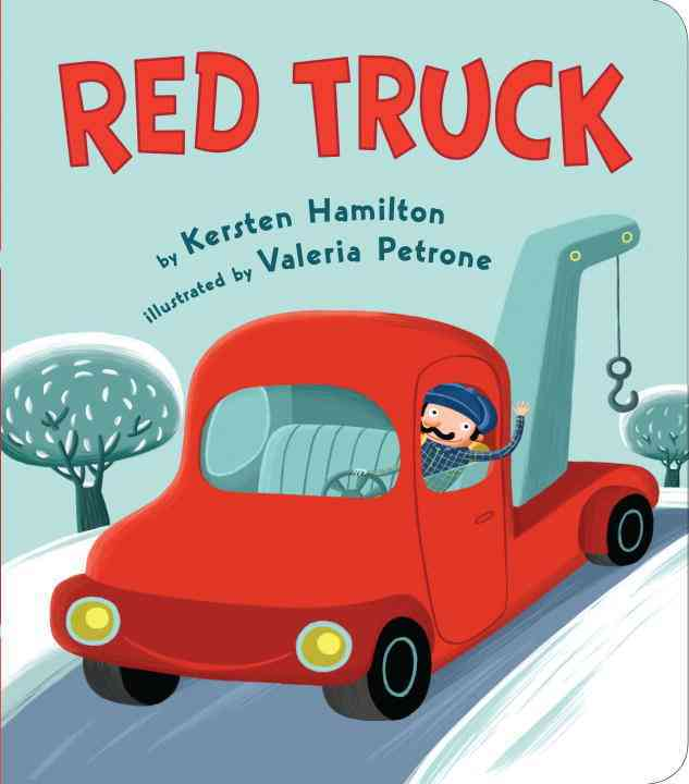 Red Truck (Board book) - Thumbnail 0