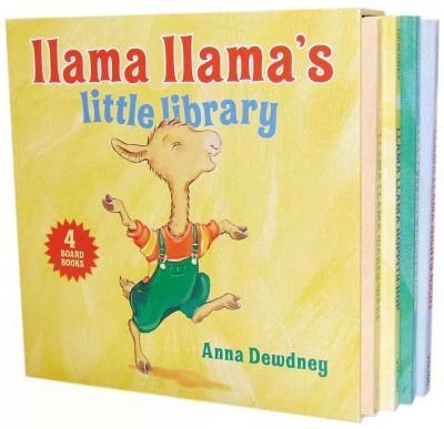 Llama Llama's Little Library: Llama Llama Nighty-night / Llama Llama Zippity-zoom / Llama Llama Hoppity-hop / Ll... (Board book)