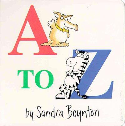 A-to-z (Board book)