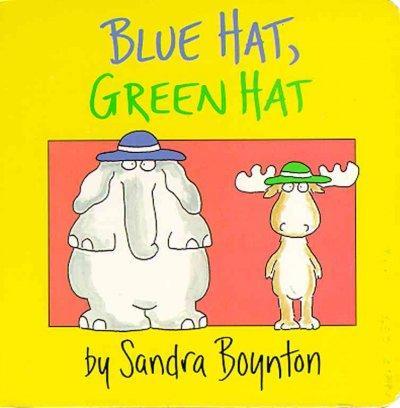 Blue Hat, Green Hat (Board book)