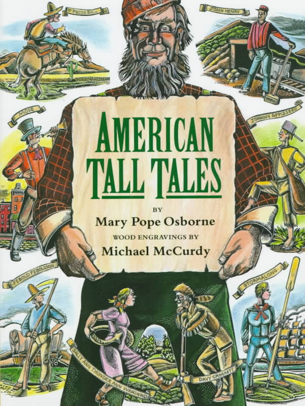 American Tall Tales (Hardcover)