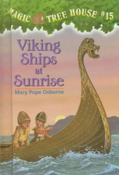 Viking Ships at Sunrise (Hardcover)