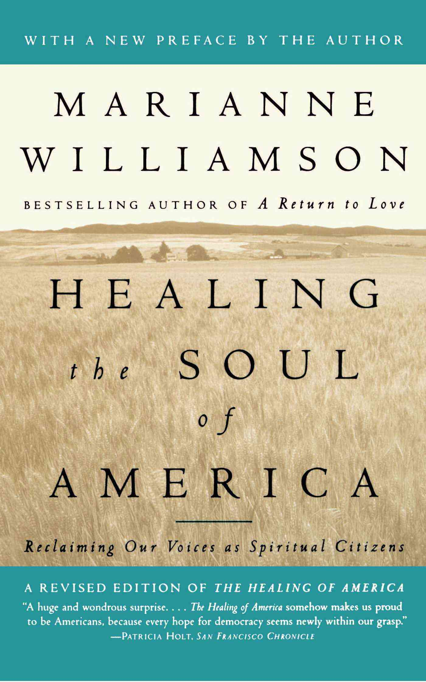 Healing the Soul of America: Reclaiming Our Voices As Spiritual Citizens (Paperback)