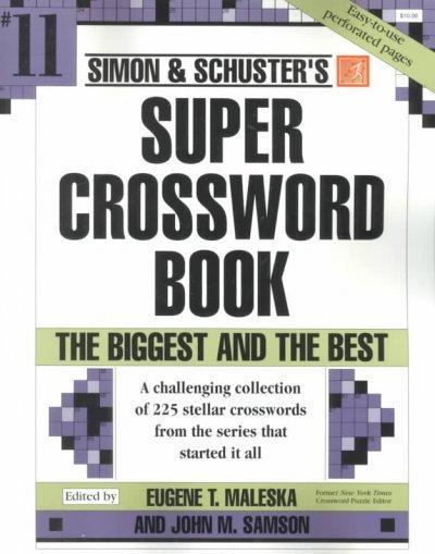 Simon & Schuster Super Crossword Book (Paperback)