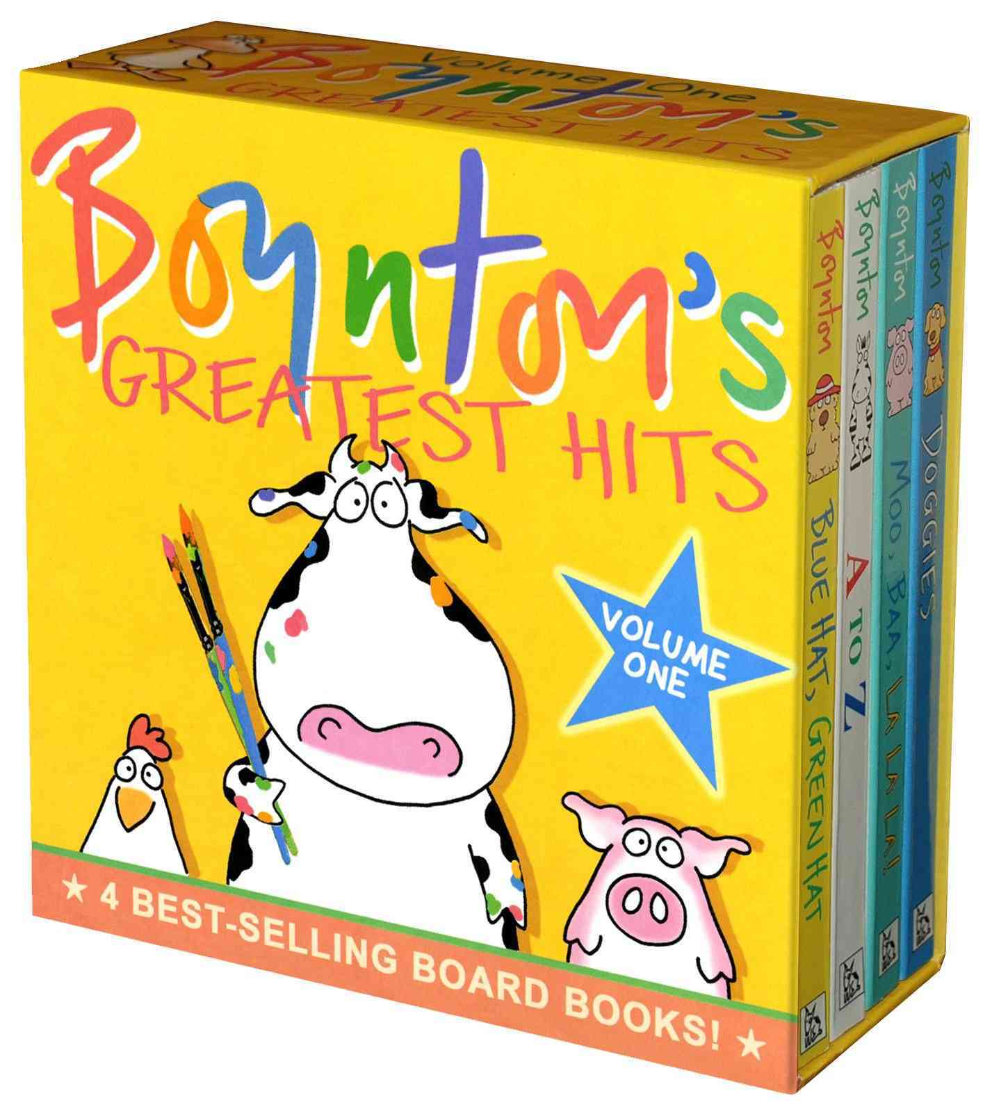 Boynton's Greatest Hits: Mo, Baa, La La La!/A to Z/doggies/bluehat, Green Hat (Board book) - Thumbnail 0