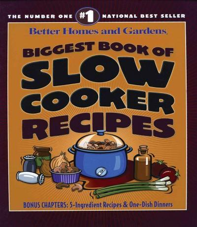 Biggest Book of Slow Cooker Recipes (Paperback)