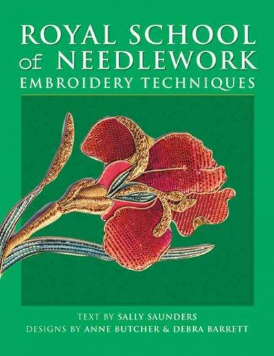 Royal School of Needlework Embroidery Techniques (Paperback) - Thumbnail 0