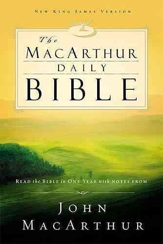 Macarthur Daily Bible: Read Through the Bible in One Year, With Notes from John Macarthur (Paperback) - Thumbnail 0