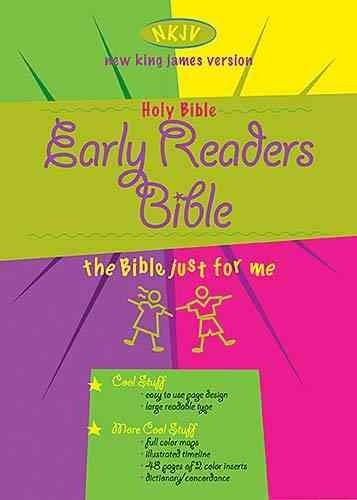 Holy Bible: New King James Version Early Readers Bible (Hardcover)