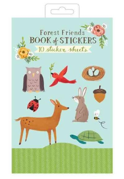 Forest Friends Book of Stickers (Paperback)