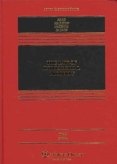 The Law of Intellectual Property (Hardcover)