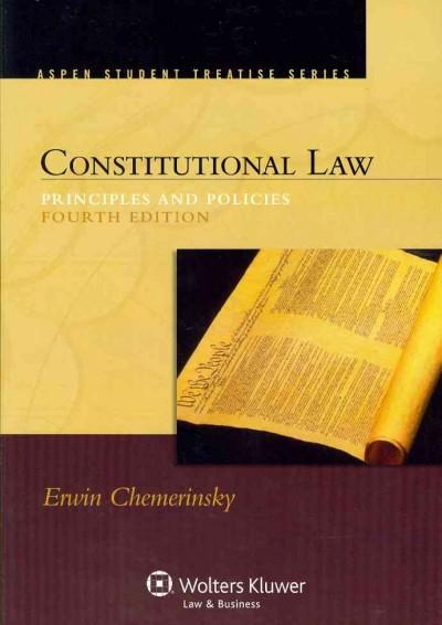 Constitutional Law: Principles and Policies (Paperback)