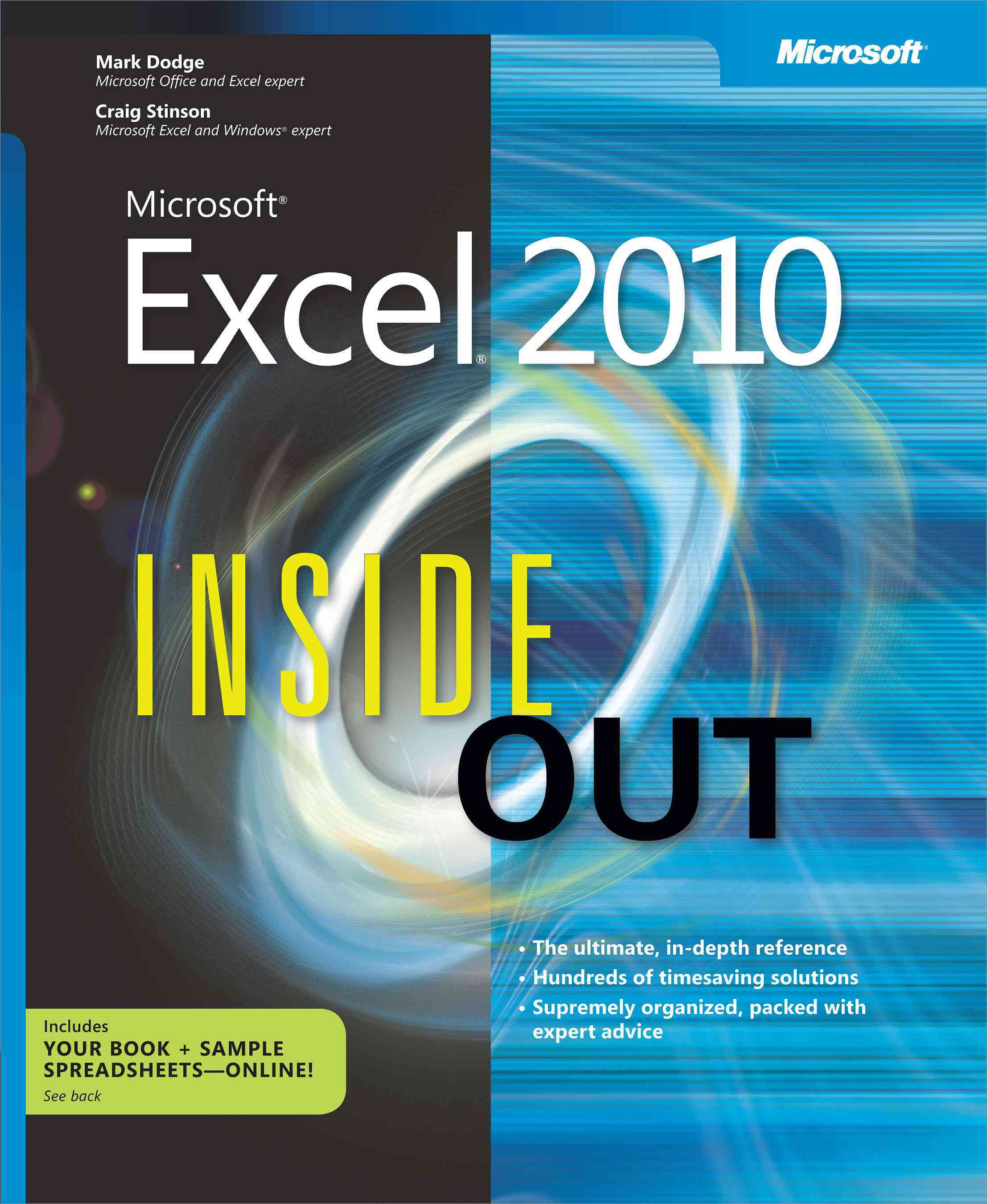 Microsoft Excel 2010 Inside Out (Paperback)