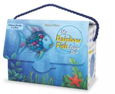 My Rainbow Fish Book Box (Board book)