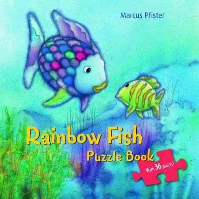 The Rainbow Fish Puzzle Book (Board book) - Thumbnail 0