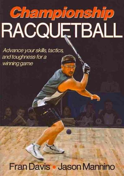 Championship Racquetball (Paperback)