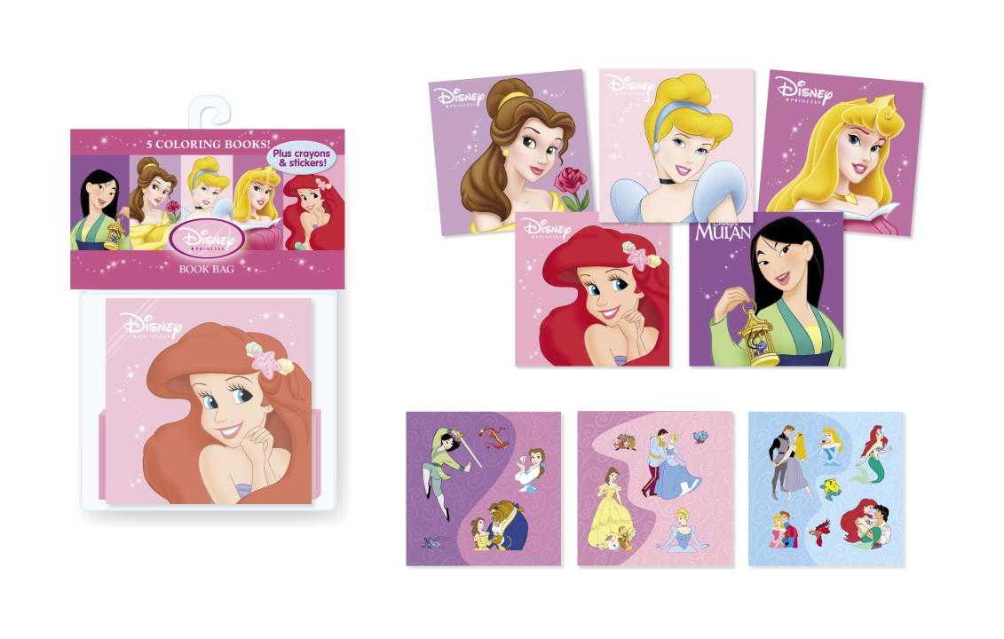 Disney Princess Book Bag (Paperback)