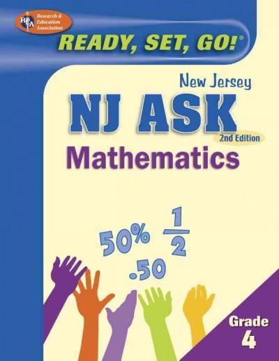 Nj Ask Mathematics Grade 4 (Paperback)