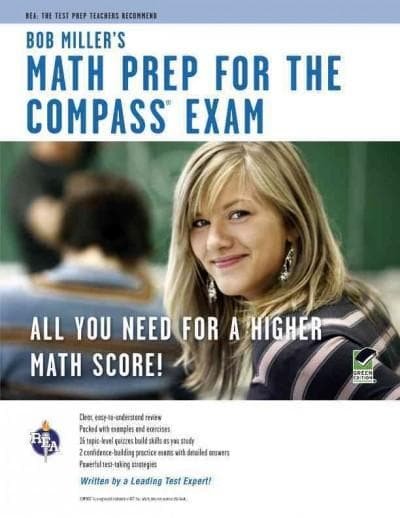 Bob Miller's Math Prep for the COMPASS Exam (Paperback) - Thumbnail 0