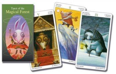Tarot of the Magical Forest/Tarot del Bosque Magico (Cards)