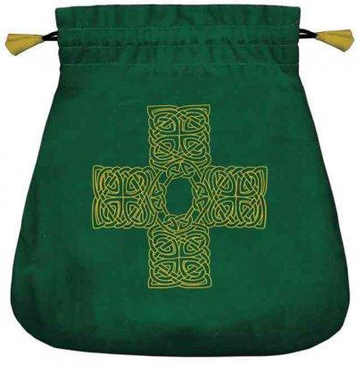 Celtic Cross Velvet Bag (Hardcover)